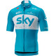 Castelli Team Sky Podio Bike Jersey Shortsleeve Men blue